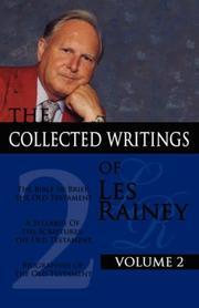 Cover of: The Collected Writings of Les Rainey Volume 2 | Les Rainey