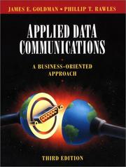 Applied data communications by James E. Goldman