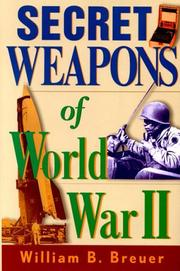 Secret Weapons of World War II