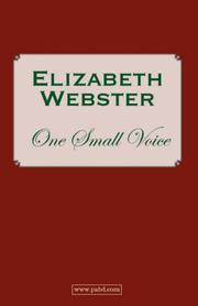 Cover of: One Small Voice