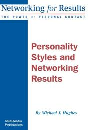 Cover of: Personality Styles and Networking Results