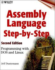Cover of: Assembly Language Step-by-step