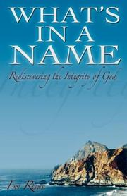 Cover of: What's In A Name