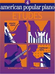Cover of: American Popular Piano Etudes Book 4