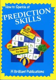 Cover of: How to Sparkle at Prediction Skills (How to Sparkle At...)