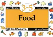 Cover of: Food (Activities for 3-5 Year Olds Series)