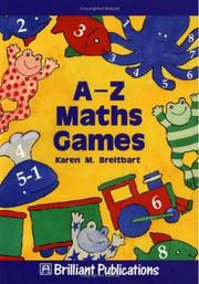 Cover of: A-Z Maths Games
