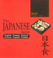 Cover of: The Japanese Menu |