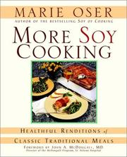 Cover of: More Soy Cooking
