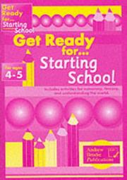 Cover of: Get Ready for Starting School (Get Ready)