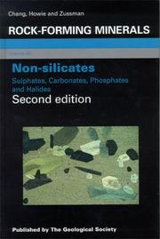 Cover of: Non-Silicates | L. L. Y. Chang