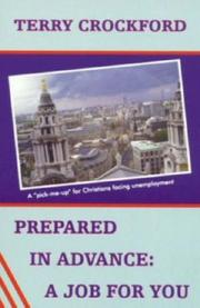 Cover of: Prepared in Advance, a Job for You