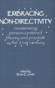 Cover of: Embracing Nondirectivity
