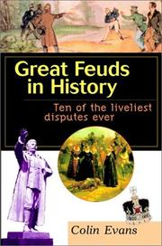 Cover of: Great feuds in history