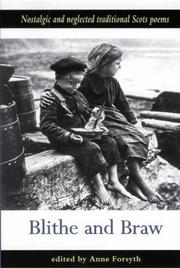 Cover of: Blithe and Braw | Anne Forsyth