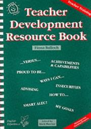 Cover of: Teacher Development Resource Book (Brain Friendly Resources)