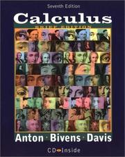 Cover of: Calculus, 7th Edition, Late Transcendentals Brief Version | Howard A. Anton