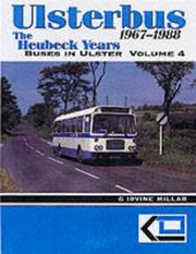 Cover of: Ulsterbus 1967-1988 (Buses in Ulster)