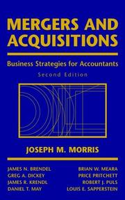 Cover of: Mergers and Acquisitions