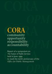 Cover of: CORA