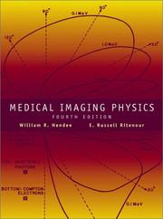 Cover of: Medical imaging physics by
