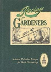 Cover of: Recipes for Gardeners