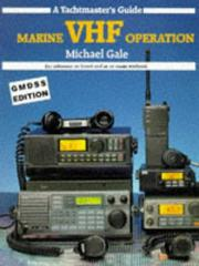 Cover of: Marine VHF Operation