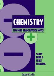 Cover of: Standard Grade Chemistry Revision Notes (Standard Grade Revision Notes)
