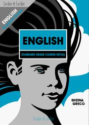 Cover of: Standard Grade English Course Notes