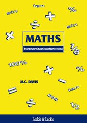 Cover of: Standard Grade Maths Revision Notes