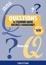 Cover of: Questions in Standard Grade Business Management