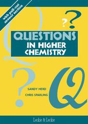 Cover of: Questions in Higher Chemistry