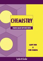 Cover of: Higher Chemistry Revision Notes