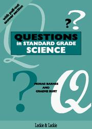 Cover of: Questions in Standard Grade Science