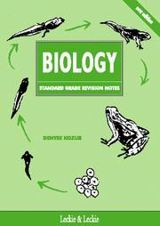 Cover of: Standard Grade Biology Revision Notes