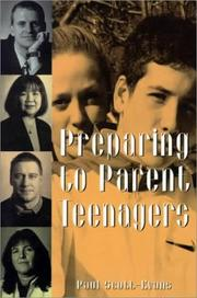 Cover of: Preparing to Parent Teenagers | Paul Scott-Evans