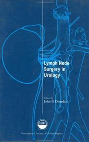Cover of: Lymph Node Surgery in Urology