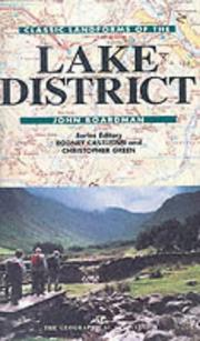 Cover of: Classic Landforms of the Lake District (Classic Landform Guides)
