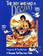 Cover of: The Boy Who Had a Dream