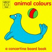 Cover of: Animal Colours