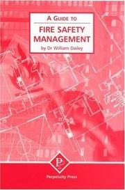 Cover of: A Guide to Fire Safety Management