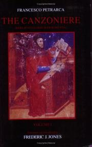 Cover of: The Canzoniere (Troubador Italian Studies) | Francesco Petrarca