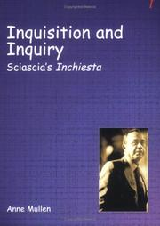 Cover of: Inquisition and Inquiry