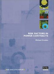 Cover of: Risk Factors in Power Contracts