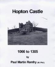 Cover of: Hopton Castle, 1066 to 1305