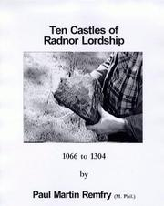 Cover of: Ten Castles of Radnor Lordship, 1066 to 1304