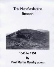 Cover of: The Herefordshire Beacon, 1043 to 1154