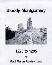 Cover of: Bloody Montgomery, 1223 to 1295