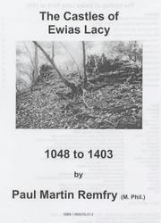 Cover of: The Castles of Ewias Lacy, 1048 to 1403