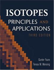Isotopes: Principles and Applications